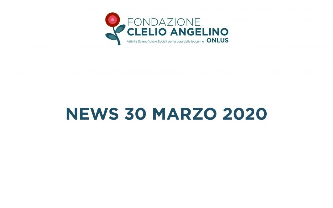 News del 30 marzo 2020