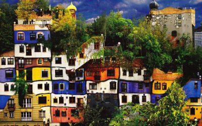 LaborARTE e Muse alla Lavagna – Il villaggio verde di Hundertwasser