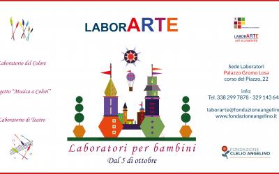 Riprendono i laboratori d'arte di LaborARTE